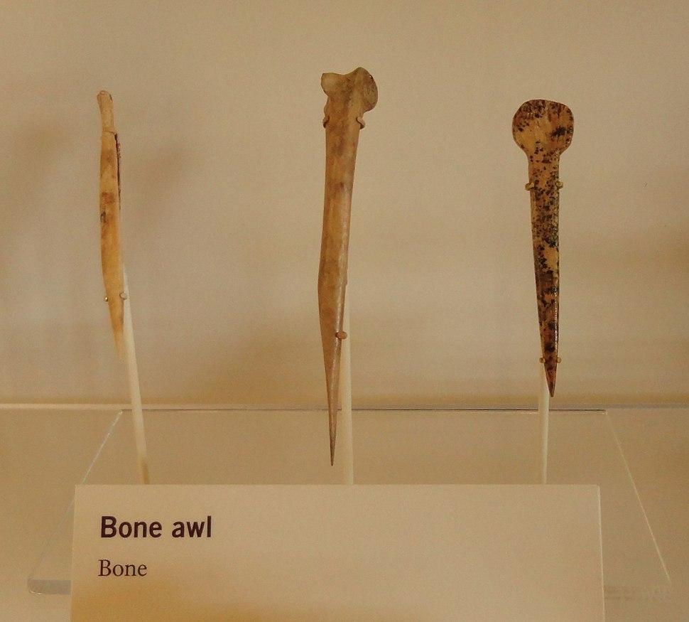 Ancestral Puebloan bone awls by RO