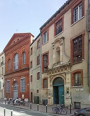 Jean-Pierre Rivalz - Ancien couvent des religieux de Saint-Antoine-du-Salin Toulouse