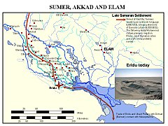 Ancient cities of Sumer, Akad and Elam