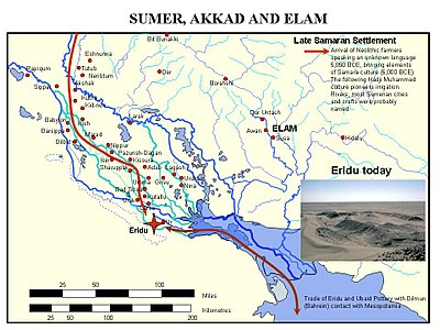 Ancient cities of Sumer, Akad and Elam.jpg