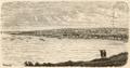 Ancud - Vista jeneral - Chile Ilustrado (1872).png