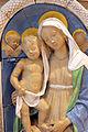 Andrea della robbia, madonna col bambino tra i ss. sebastiano e antonio abate (collez. rita d'annunzio lombardi) 03,1.JPG
