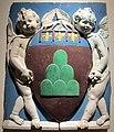 Andrea della robbia, stemma di montevarchi con putto alato, 1495-1500 ca. 01.JPG