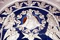 Andrea e Giovanni della Robbia, Gesù e la Vergine intercedono presso l'Eterno, 1495-1500 (03).jpg
