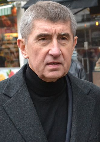2013 Czech legislative election - Image: Andrej Babiš 2014