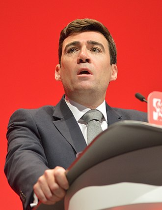 Andy Burnham - Burnham giving his final Shadow Home Secretary speech at the party conference in 2016