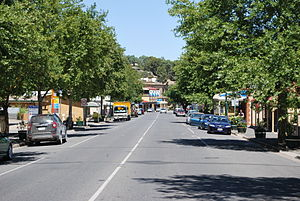 Angaston, South Australia - Murray St, the main street of Angaston