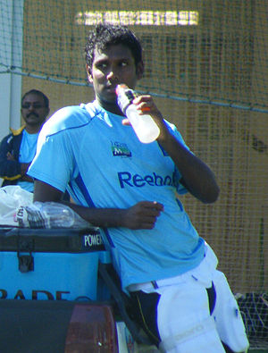 Angelo Mathews - Angelo Mathews at Sydney Cricket Ground in October 2010