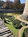 Angers Angevin castle moat.jpg