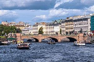 Anichkov Bridge - Anichkov Bridge in 2015.