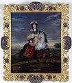 Anne de Souvree, marquise de Louvois. Oljemålning på duk - Skoklosters slott - 30979.tif