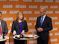 Annie Lööf och Fredrik Reinfeldt, 2013-09-09 05.jpg