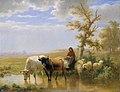 Anonymous - Kühe und Schafe - 1393 - Belvedere.jpg