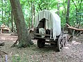 Another view of the Medieval Wagon, Thunderdell Wood, Ashridge - geograph.org.uk - 1387232.jpg