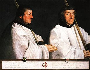Portrait of Two Canons