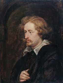 Anthony Van Dyck, by Peter Paul Rubens