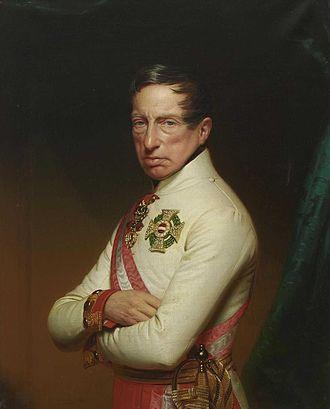 Archduke Charles, Duke of Teschen - Portrait by Anton Einsle