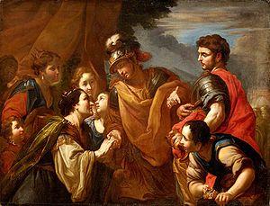 Antonio Molinari - Image: Antonio Molinari La familia de Darío a los pies de Alejandro