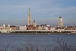 Antwerp riverfront
