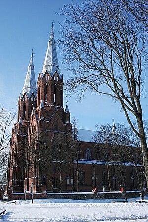 Anykščiai Church - Image: Anyksciai church