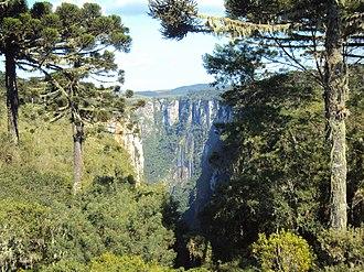 Serra Geral National Park - Image: Aparados Da Serra Cânion Itaimbezinho