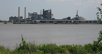 Sugar refinery - Sugar refinery in Arabi, Louisiana, United States.