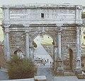 Arco di Settimio Severo detail.JPG