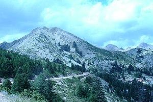 Berg Arenta im Agrafa-Gebirge, Evrytania