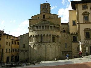 Santa Maria della Pieve - View of the apse.
