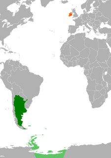 Diplomatic relations between the Argentine Republic and Ireland