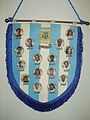 Argentina national football team banner.JPG