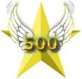 Aristo Class- 500 new articles Barnstars.png
