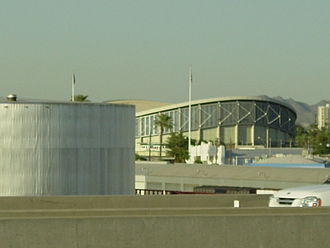 Arizona Veterans Memorial Coliseum - The Coliseum in 2007