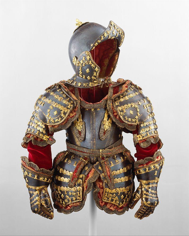 Armor of Infante Luis, Prince of Asturias (1707–1724) MET DT765.jpg