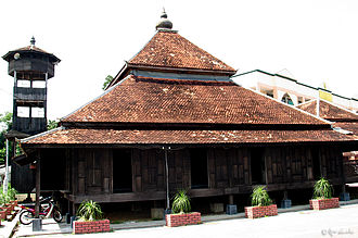 Islam in Malaysia - Kampung Laut Mosque in Tumpat is one of the oldest mosques in Malaysia, dating to early 18th century.