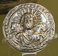 Arte romana, disco col sole invitto, 2 secolo.JPG