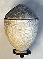 Arte romana, vaso di marmo con ramoscelli di ulivo, I sec dc..JPG