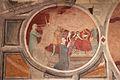 Asciano, museo di palazzo corboli, int., sala di aristotele con affreschi attr. a Cristoforo di Bindoccio e Meo di Pero, XIV sec. 03.JPG