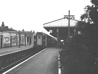 Ascot railway station - Image: Ascot Railway Station