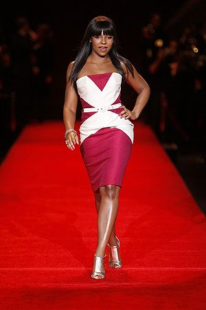 Ashanti (singer) - Ashanti at the Heart Truth Fashion Show in 2008