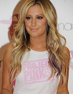Ashley Tisdale nel 2012
