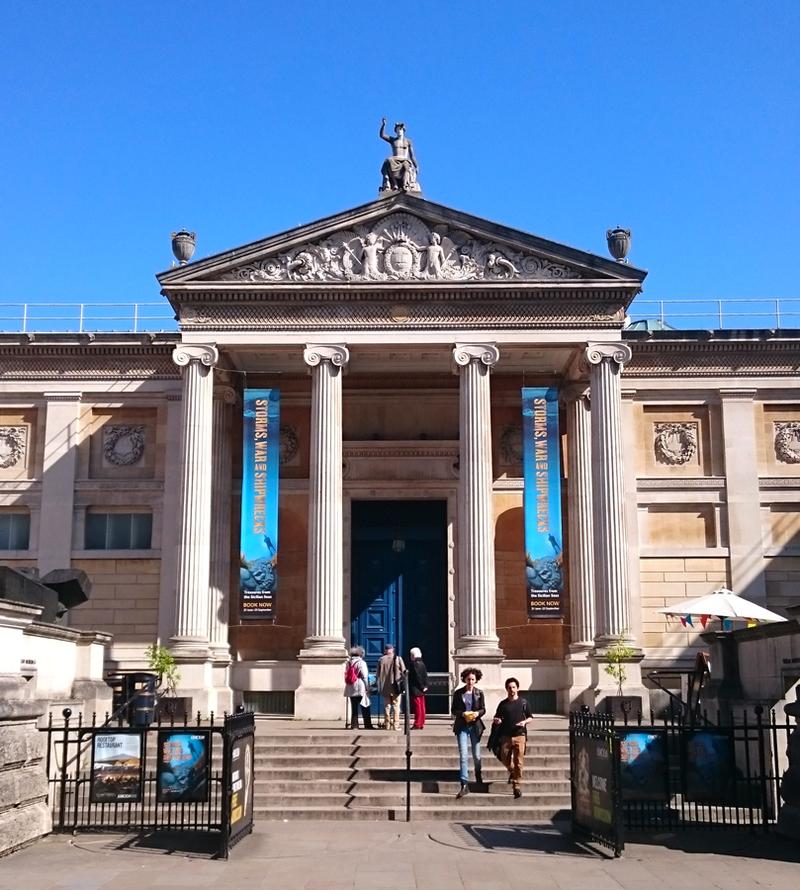 Ashmolean Museum Entrance May 2016