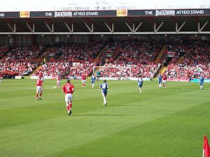 Severnside derby - Bristol City and Cardiff City meet at Ashton Gate in March 2009