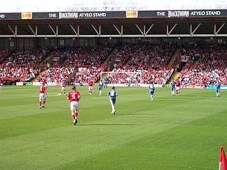 Bristol City F.C. - Image: Ashtongatecardiff
