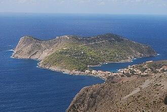 Cephalonia - View of Asos, Cephalonia