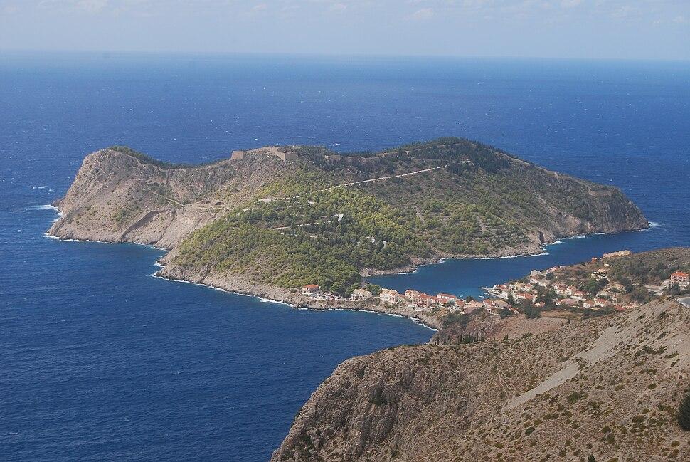 View of Asos, Cephalonia