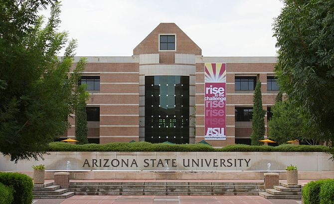 English: Fletcher Library, Arizona State Unive...