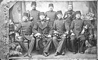 Mustafa Kemal Atatürk's personal life - 1901, student at Ottoman War Academy
