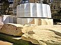 Athina Akropolis column segment (new marble) 2005-04.jpg