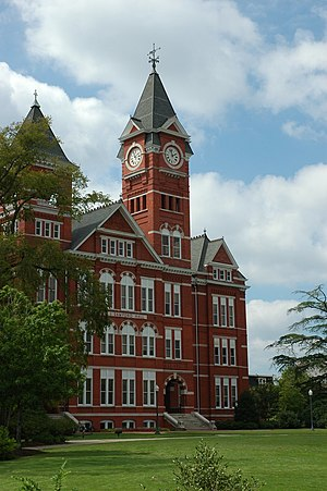 Auburn, Alabama - Samford Hall, on the Auburn University campus.